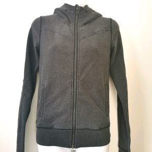 Lululemon size 4 bliss break hoodie dark gray